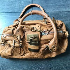 Chloe   Paddington Tan Medium Satchel Bag